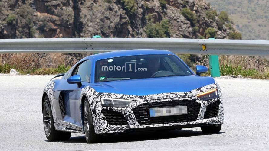 2019 Audi R8 spy photos
