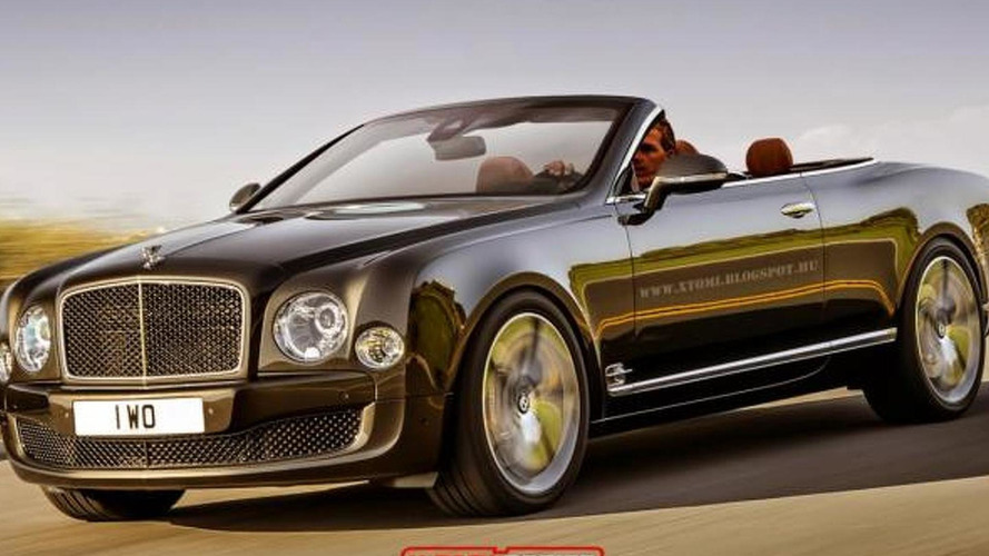 Bentley Mulsanne Speed imagined as a 530 bhp convertible