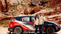 Toyota RAV4 rally car