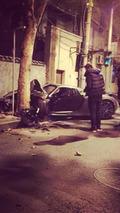 Porsche 918 Spyder crash