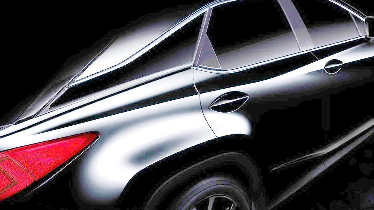 2016 Lexus RX teaser (modified)