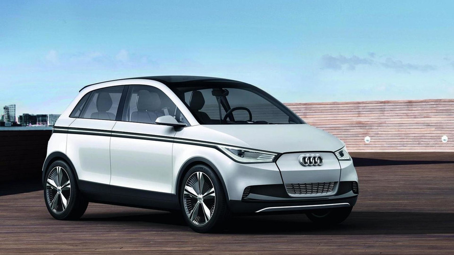 Audi A2 Concept - real photos released