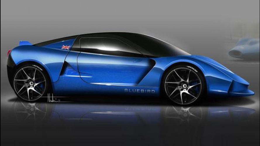 Bluebird DC50, nuova supercar elettrica