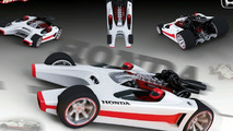 New Hot Wheels Honda Racer