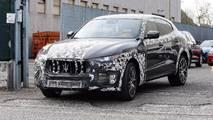 Maserati Levante GTS fotos espía