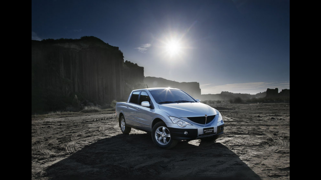 Ssangyong Actyons Sports