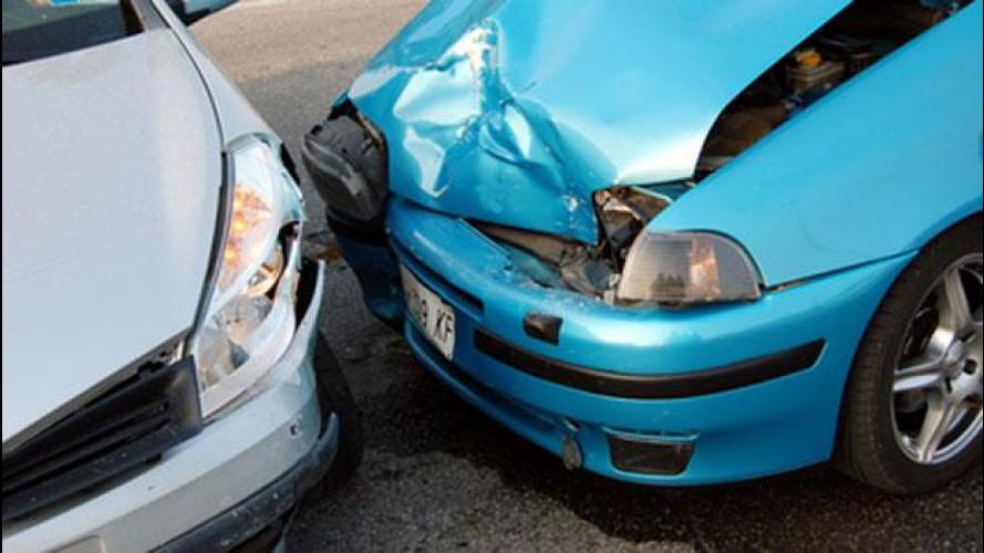 Meno incidenti stradali tra il 2010 e il 2011