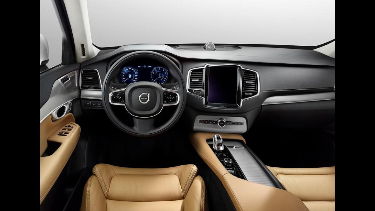 Volvo explica o funcionamento do aprimorado multifiltro de ar do novo XC90