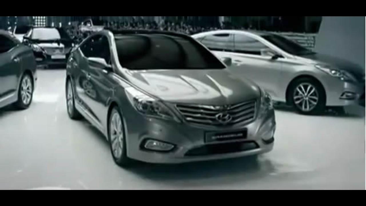 VÍDEO: Detalhes do Novo Hyundai Azera 2012