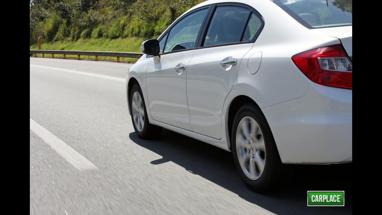 Garagem CARPLACE: Respondendo as perguntas do leitores sobre o Novo Civic 2012
