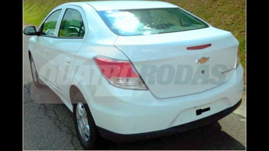 Novo Prisma: flagra confirma nome do Onix Sedan