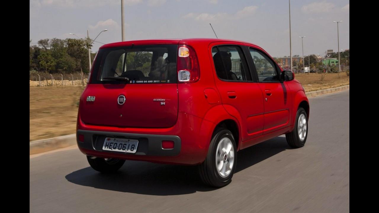 Fiat Uno ganha versão Economy com motor 1.4 e preços a partir de R$ 28.120