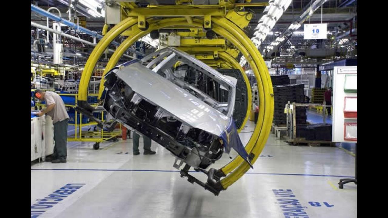 Estoques elevados promovem férias coletivas em fábrica da Fiat