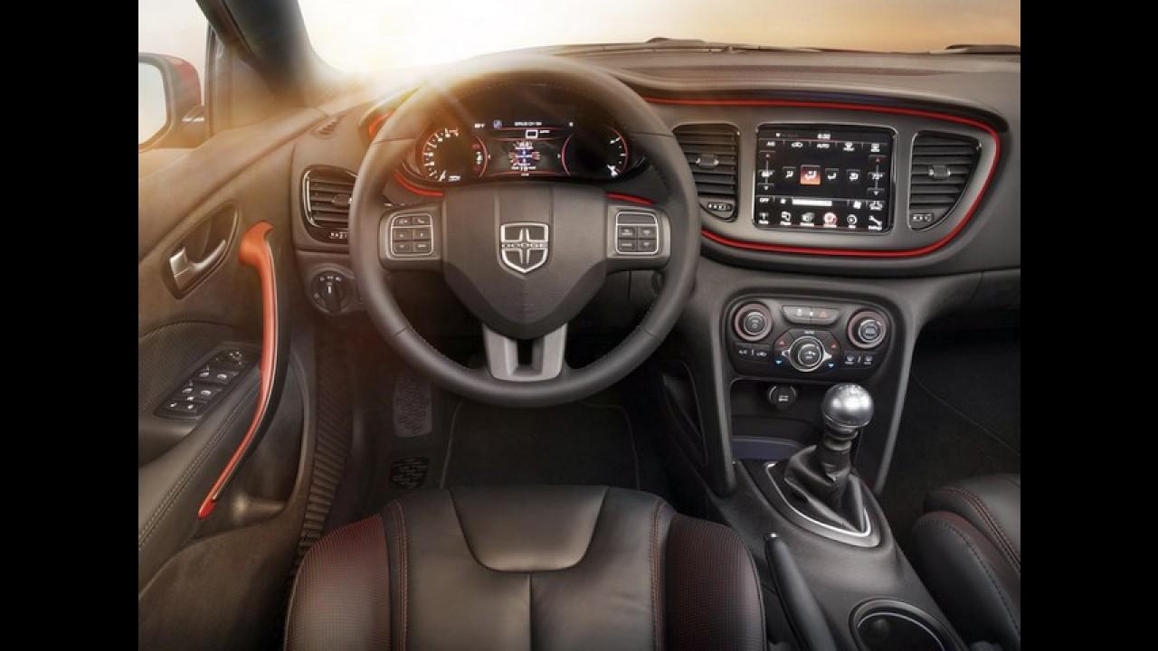Dodge Dart GT será lançado em Detroit - Preço inicial será equivalente a R$ 42.615