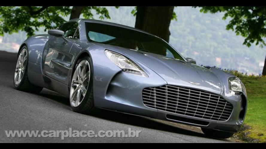 Aston Martin One-77 já teve 60 unidades comercializadas
