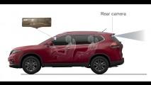 Carros da Nissan terão retrovisor inteligente com LCD integrado