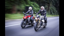 Avaliação: BMW S1000 R e Kawasaki Z1000, as supernakeds em ação!