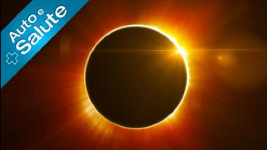 Eclissi Solare Totale 20 Marzo, le accortezze se siete in auto [VIDEO]