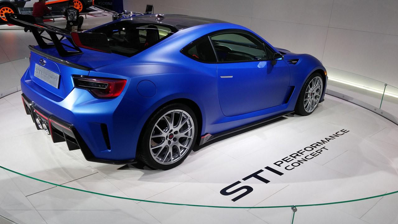 Subaru STi Performance concept al Salone di New York 2015