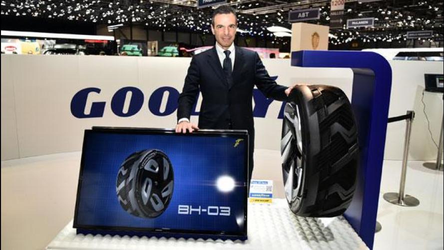 Salone di Ginevra: il futuro di Goodyear è lo pneumatico
