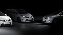 Toyota lineup for 2012 Paris Motor Show