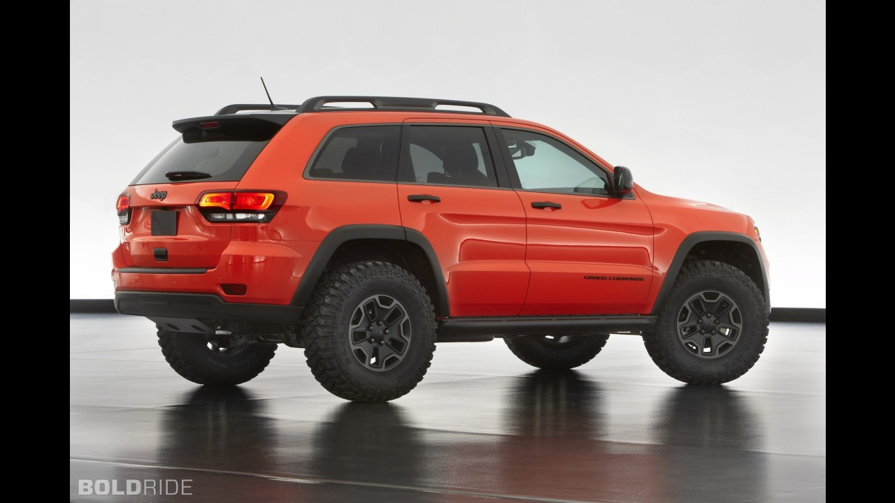 Jeep Grand Cherokee Trailhawk Concept