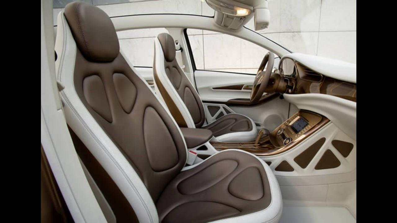 Elétrico: Mercedes-Benz mostrará o BlueZero E-Cell Plus Concept 2009 em Frankfurt