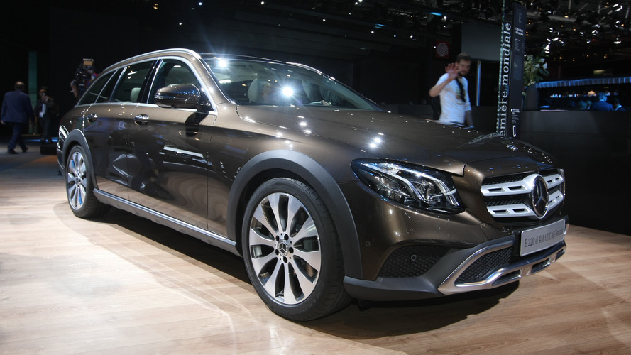 Mercedes E-Class All-Terrain costs €4,700 more than regular Estate