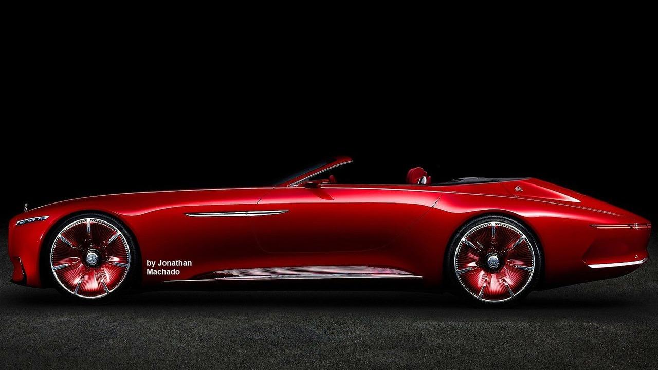 Vision Mercedes-Maybach 6 Cabriolet concept render