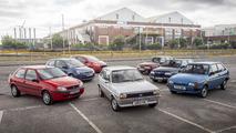 Ford Fiesta convoy