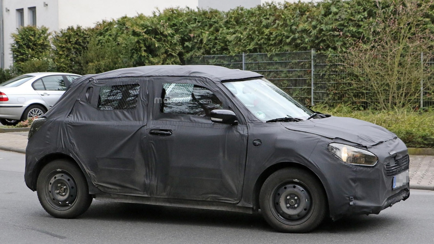 2017 Suzuki Swift spied for the first time