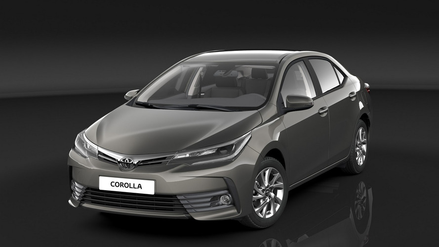 Toyota introduces updated Corolla in Europe