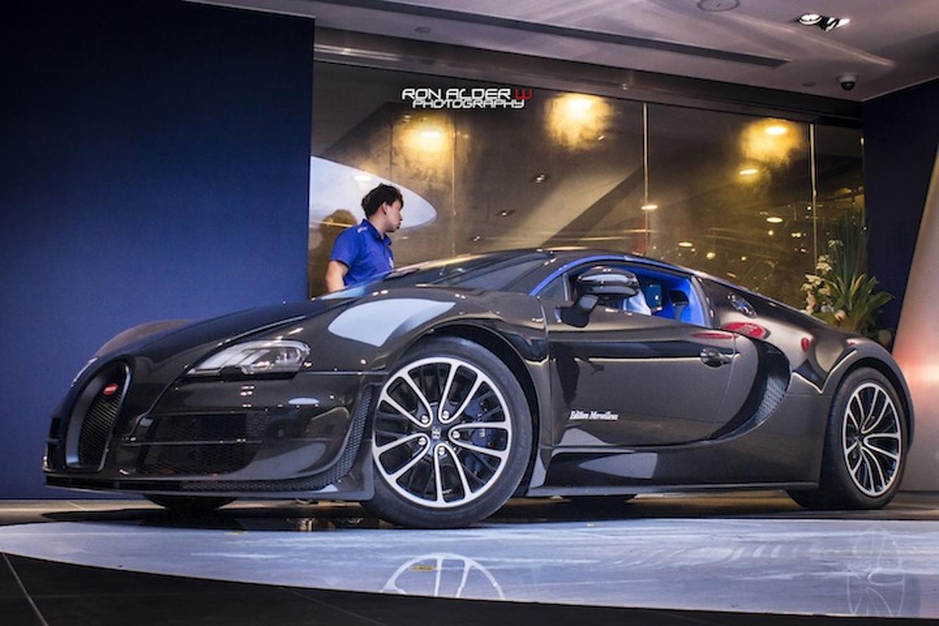 Bugatti Veyron Super Sport Merveilleux Shows Up In Hong Kong