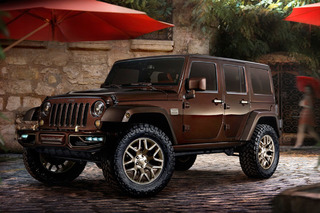 Jeep Is Rolling Four Restyled 4x4's Into Beijing