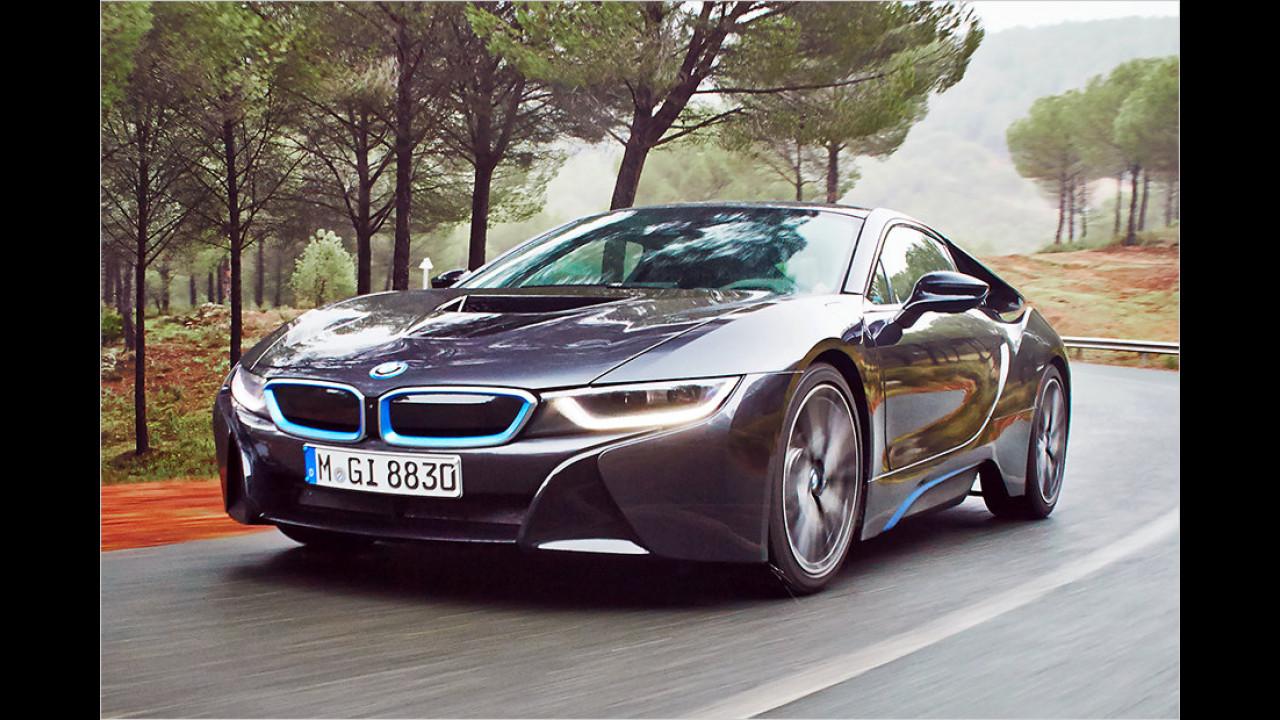 Auflösung: Der BMW i8