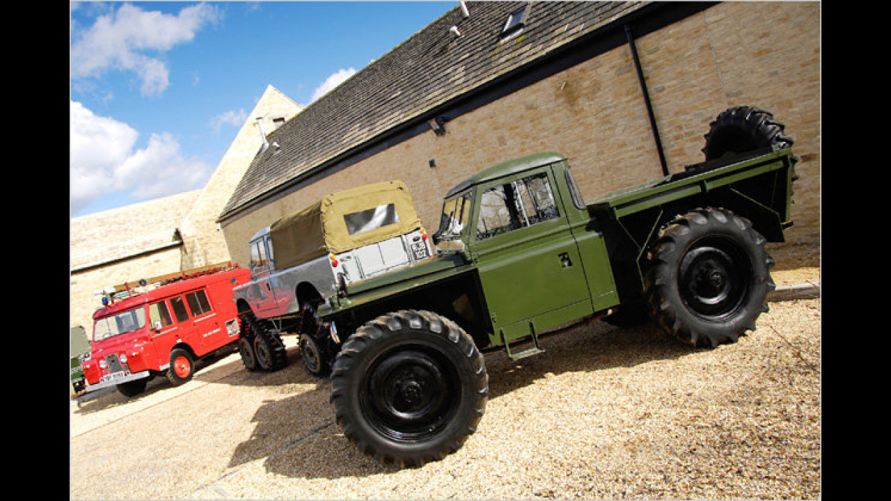 Land Rover Series II 109'' for foresty work (Forrest Rover)