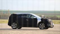 2017 Kia Niro Hybrid spied, debuts next year
