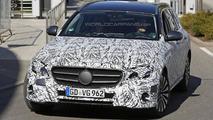 2017 Mercedes-Benz E-Class Estate spy photo
