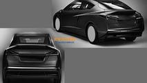 BMW concept leaked patent design