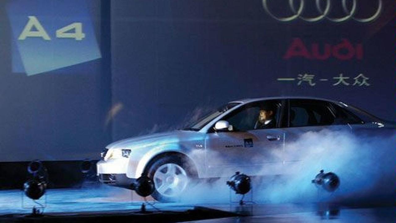 Audi A4 Shanghai release