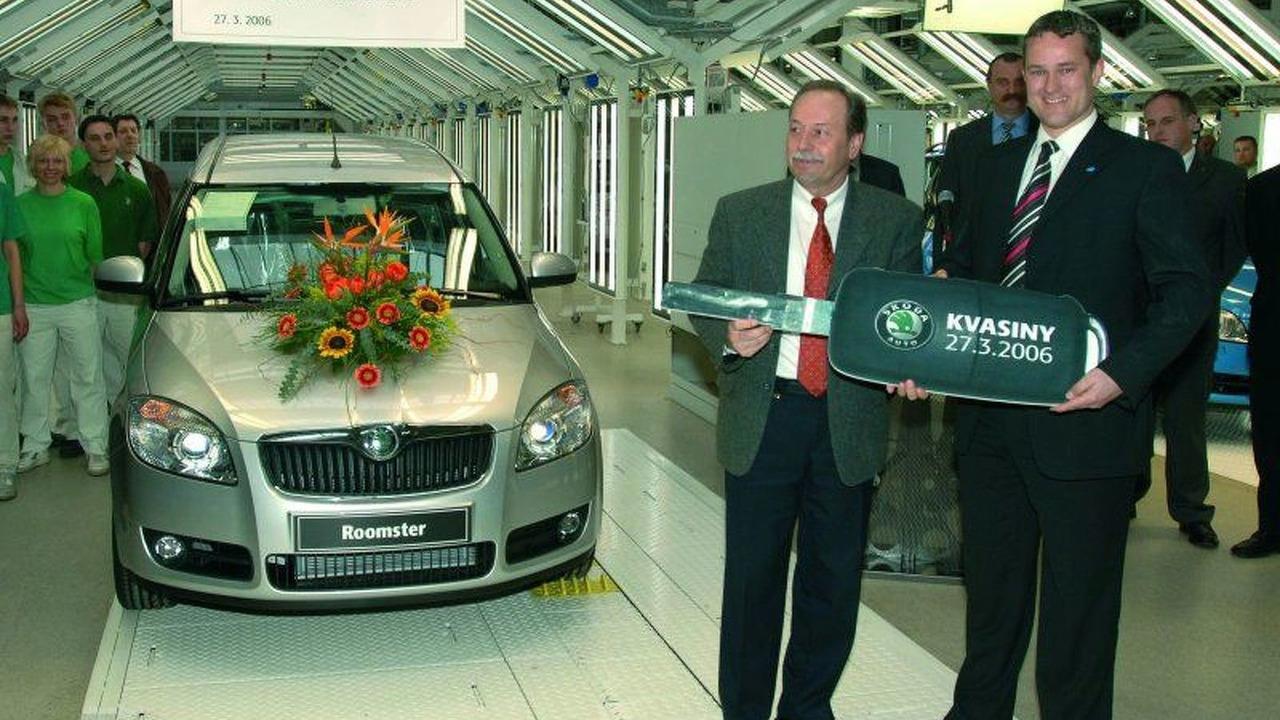 Skoda Roomster Production Start Ceremony