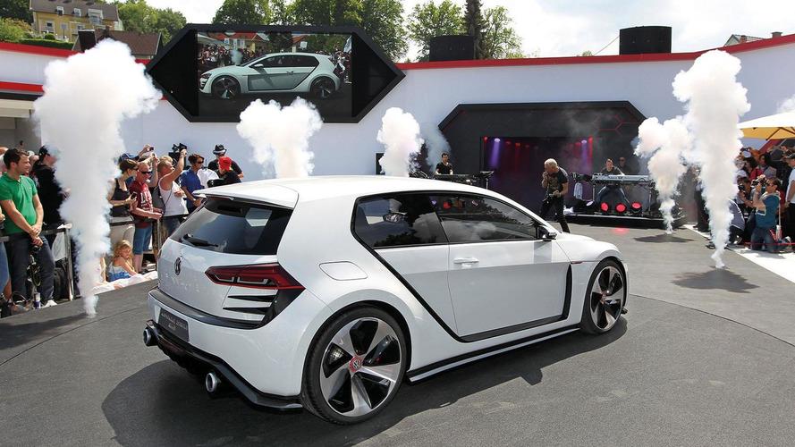 Volkswagen Design Vision GTI concept debuts at Wörthersee 2013