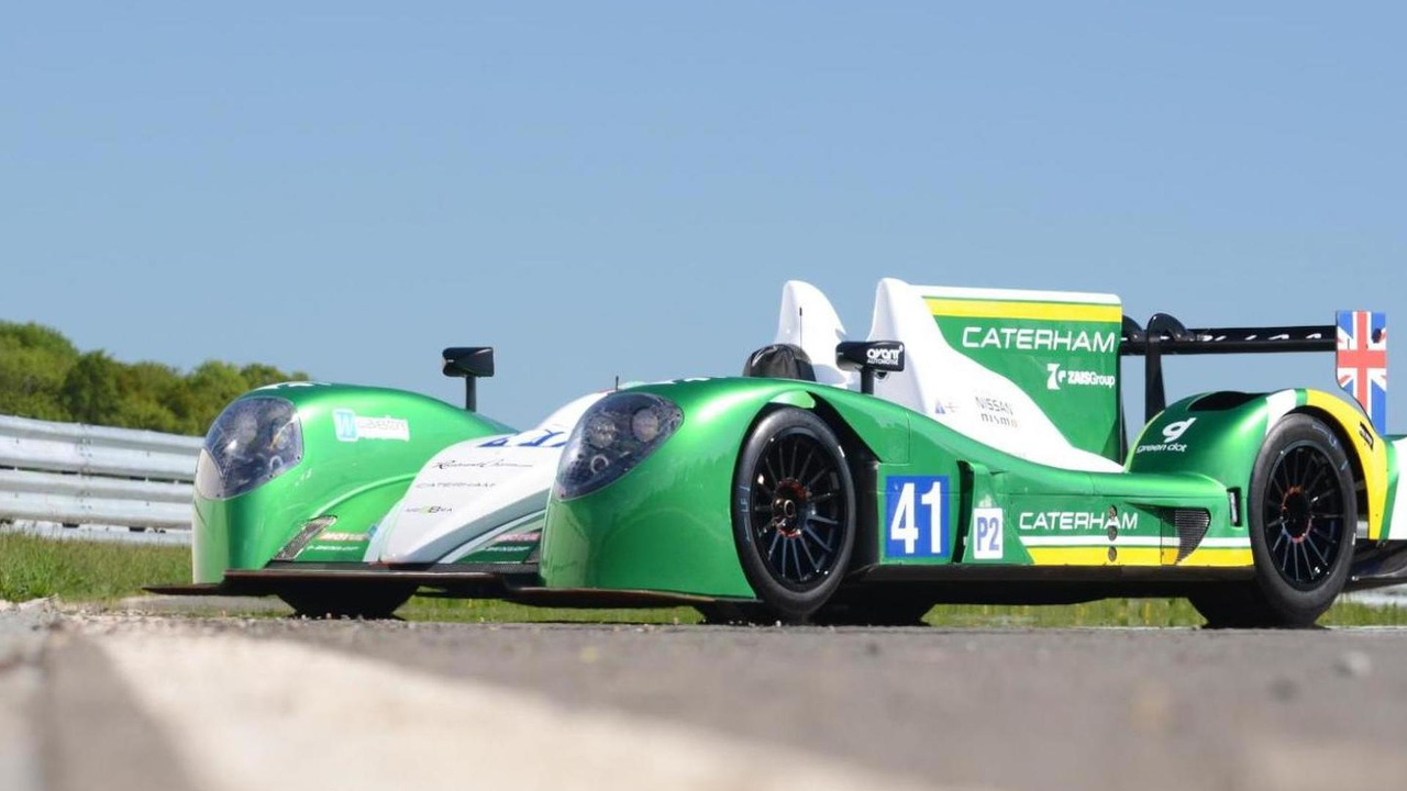 Caterham LMP2 car for 24 Hours of Le Mans 04.06.2013