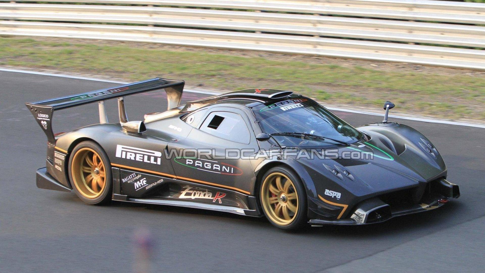 Pagani Zonda R Sets New Unofficial Nurburgring Record Live Photos