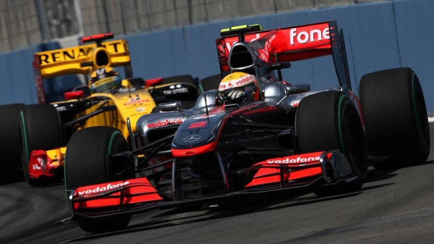 Practice shows Valencia to be hotly contested
