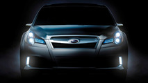 Subaru Legacy Concept teaser for Detroit NAIAS 2009