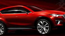 Mazda Minagi Concept sketch rendering 19.01.2011