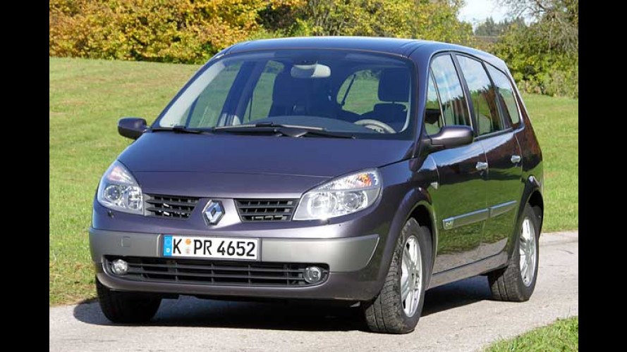 Renault Grand Scénic 1.9 dCi: Scénic II für Sieben