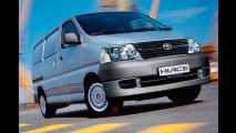 Aufgefrischt: Toyota Hiace