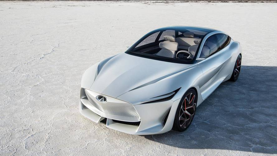 New Infiniti Q Inspiration Concept on show in Detroit